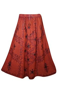 Mogul Womens Long Skirt Floral Embroidered Rayon A-Line B... https://www.amazon.com/dp/B074J8Q37M/ref=cm_sw_r_pi_dp_x_4MY0zbRE1ARY4