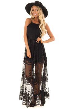 Black Floral Lace Maxi Dress with Halter Neckline 30th Birthday, Birthday Ideas, Cute Boutiques, Fabulous Dresses, Engagement Pics, Lace Maxi, Boutique Dresses, Floral Lace, Lush