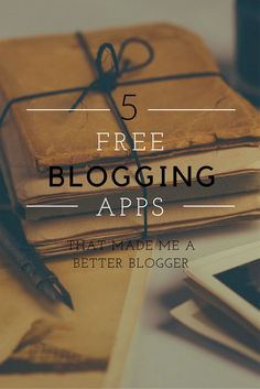 Have you ever wondered why you have considered QUITTING blogging? It's stressful It takes a lot of time You don't get enough income/responses But how to fix it? WITH APPS OF COURSE!