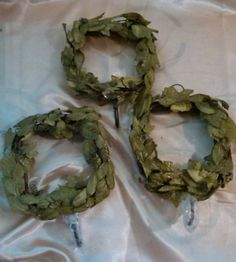 3 wall wreaths decorative for craft home design by LostInspiration
