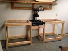 Radial Arm Saw Upgrades and Work Station