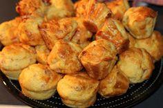LES DOUCEURS D'EMA ET TOM: Muffins jambon et son cœur fondant à la vache qui rit