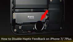 How to Enable/ Disable Haptic Feedback on iPhone 7/ 7 Plus/ 8/ 8 Plus