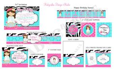 Spa decals for Birthday