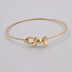 New fashion accessories jewelry hollow flower bow bangle women lovers' gift B3426