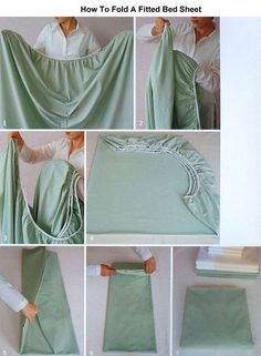 Best DIY Life Hacks & Crafts Ideas : Comment bien pliser un drap housse. Linen Closet Organization, Home Organisation, Organization Hacks, Tank Top Organization, Clothing Organization, Organizing Tips, Closet Storage, Simple Life Hacks, Useful Life Hacks