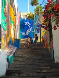 Colorful Streetart in Barranco - Lima, Peru