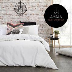 Simple! Quilt Cover Sets, Linen Bedding, Comforters, Quilts, Blanket, Simple, Design, Home Decor, Linen Sheets