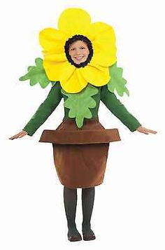 Halloween Costumes Kids: Childs Sunny Blossom Costume Flower Plant In Pot Leaves Petals Boys Girls Kids -> BUY IT NOW ONLY: $34.99 on eBay!
