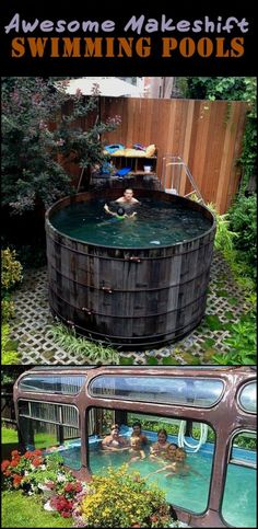 These Are Interesting, Creative, And Economical Way to Make Your Own Swimming Pool