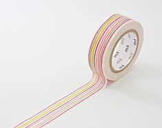 mt Pencil Washi Tape - Rainbow Masking Tape - Japanese Stationery in Melbourne