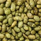 Soybeans with yellow color are chosen and are broken to extract the soy oil. The soybeans are ground; moisture checked, rolled into flakes and pressed