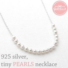 girlsluv.it - tiny HEART & LOVE YOU necklace, (2 colors)