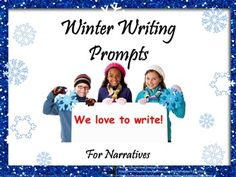 $3.00 Winter Writing Prompts  is a collection of nippy snow weather scenes with key word prompts. Each magical scene can viewed using a SmartBoard, or white board with projector. This resource includes:notes to teacher, Common Core State Standards,optional evaluation link to writing rubric,and 26 photographs with key words.