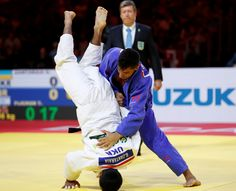 A champion Israeli judo fighter was forced to sing his own national anthem beneath an International Judo Federation (IJF) flag during an awards ceremony Thursday because of a ban on Israeli symbols at the sports Grand Slam competition in Abu Dhabi. #events #live