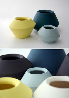 Spinner Bowls by Romi Ceramics.