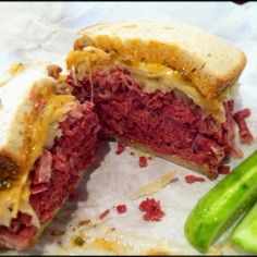 Reuben on Rye, at @Katz Deli in the east village. A religious experience