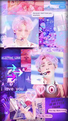 Chanyeol Cute, Park Chanyeol Exo, Aesthetic Backgrounds, Aesthetic Wallpapers, Baekhyun Wallpaper, Exo Fan, Purple Aesthetic, Aesthetic Collage, You're Beautiful