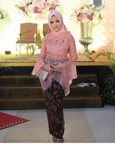 60 Ideas for diy wedding dress patterns tutorials style Model Kebaya Brokat Modern, Kebaya Modern Hijab, Kebaya Hijab, Batik Kebaya, Kebaya Dress, Kebaya Muslim, Batik Muslim, Diy Wedding Dress, Wedding Dress Patterns