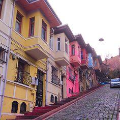 "ongun.ozyagci: ""Old houses of #balat #istanbul"""