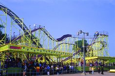 The WildCat !! First roller coaster ever !!! To bad they took it down!!! They built some music system there instead!!!!!!!!!