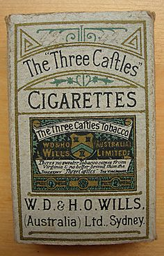 We wouldn't encourage smoking, but splendid typography in these vintage tobacco advertisments.