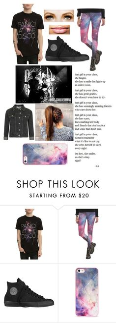 """The fear of falling apart"" by llmargaretll ❤ liked on Polyvore featuring Converse, BlissfulCASE, Topshop, women's clothing, women's fashion, women, female, woman, misses and juniors"