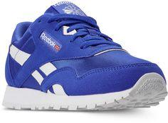 32adba96a24a Reebok Boys  Classic Nylon Mu Casual Sneakers from Finish Line