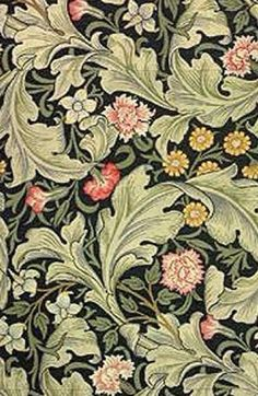 by William Morris. William Morris Wallpaper, William Morris Art, Morris Wallpapers, Of Wallpaper, Designer Wallpaper, Swedish Wallpaper, William Morris Patterns, Geometric Nature, Art And Craft Design
