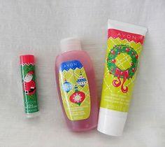 New AVON Hand Cream Bubble Bath Lip Balm Factory Sealed Great Stocking Stuffer