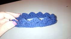 Made this adorable little crown for Laisa's baby boy!