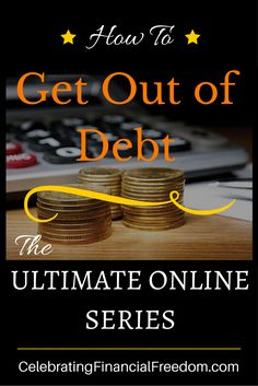 The Ultimate Get Out of Debt Series that shows you every single thing you need to get out of debt and never go back.  Click the Pic to get started!   #debt #finances #money #christian  http://www.cfinancialfreedom.com/the-how-do-you-get-out-of-debt-series