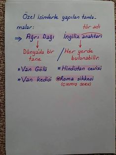 Özel isimlerle yapılan tamlamalar