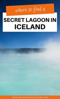 Are you planning to travel to Iceland and looking to find some off the beaten path hidden gems in Iceland? Here's a secret lagoon in Iceland to add to your bucket list! I things to do in Iceland I where to go in Iceland I what to do in Iceland I secret locations in Iceland I Iceland travel I places to go in Iceland I Europe travel I hidden gems in Europe I Iceland travel tips I places to visit in Iceland I travel in Iceland I #Iceland #Europe