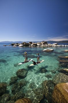Tahoe Stand-Up Paddleboard - I loved it!!!! Spending all summer in Tahoe doing this