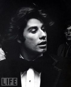 John Travolta  My first real crush!!  40 years later I still love him!!  LOL!!