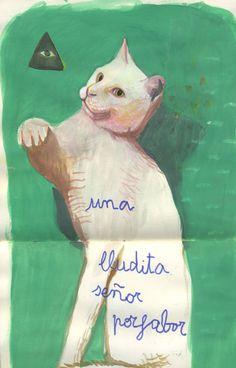 BEATRIZ LOBO #cat #illustration
