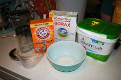 bricks and baubles: Homemade Dish Washing Detergent