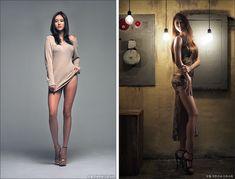Photoshop Tutorial, High Neck Dress, Two Piece Skirt Set, Womens Fashion, Skirts, Sweaters, Dresses, Design, Adobe