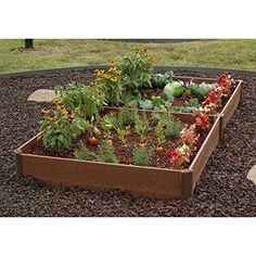 Greenland Gardener Raised Bed Garden Kit  42 x 84 x 8 * You can get more details by clicking on the image.