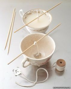 teacup candle instructions and other amazing DIY Christmas Gifts!