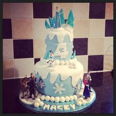 My frozen cake