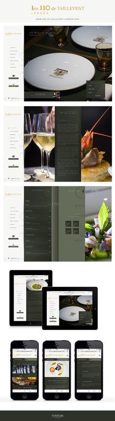 110 de taillevent London #webdesign #london #wine #vin #restaurant
