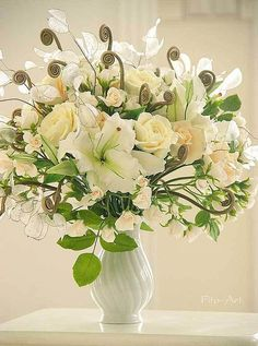 Купить Букет с лунариями. Цветы для интерьера. - бежевый, кремовый, золотой, лунарии, лилии, цветы, букет