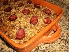 Arroz de Frango do Campo à Alentejana Portuguese Recipes, Portuguese Food, Salad Recipes, Macaroni And Cheese, Sausage, Cooking, Ethnic Recipes, Desserts, Anita