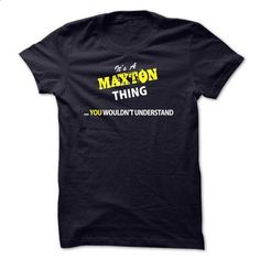 Its A MAXTON thing, you wouldnt understand !! - #geek tshirt #sweater pattern. BUY NOW => https://www.sunfrog.com/Names/Its-A-MAXTON-thing-you-wouldnt-understand-.html?68278