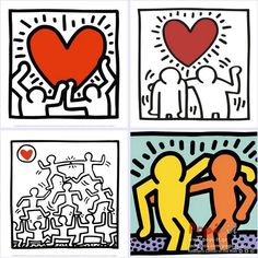 Keith Haring / Πόλεμος και Ειρήνη μέσα από σχήματα Keith Haring, Creative Kids, Preschool Activities, Art Lessons, Art For Kids, Friendship, Playing Cards, Peace, War