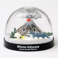 鴻池 朋子ミミオ オデッセイ スノードーム