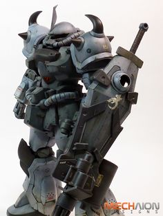 Mechaion strikes back: MG MS-07B-15 Gouf Custom. Latest Work. Photoreview No.30 Large Images, Info