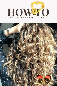 25 Ways on How to Style Naturally Curly Hair Without Heat Styling Tools - like love do The best curly hair tips for springing natural curls and waves back to life.  Naturally curly hair can be easy when you know how. These top 25 Ways on how to style Naturally Curly Hair Without Heat Styling Tools will help you learn how to style your hair.<br> Really Curly Hair, Thick Curly Hair, Natural Wavy Hair, Pelo Natural, Curly Hair Tips, Curly Hair Styles, Natural Hair Styles, Curly Girl, Long Natural Curls